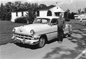 John Cheney Wood and 1954 Chevy Bel Air